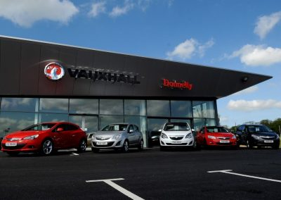 New Fiat and Vauxhall Car Showrooms, Sean Jordan Engineering